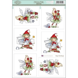 The Hobby House Wee Stamps - Christmas Magic (HHSN002)