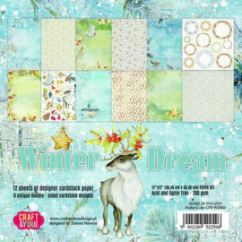 Craft&You Winter Dream Paper Set 12x12 12 vel CPS-WDR30