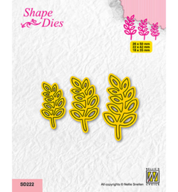 Nellie`s Choice - SD222 - Set of 3 Branches-1