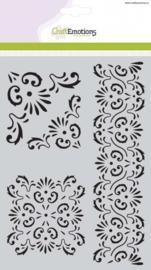 Mask stencil - Ornament A5