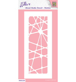 Nellie`s Choice - MMSSL020 - Slim line stencils, Abstract