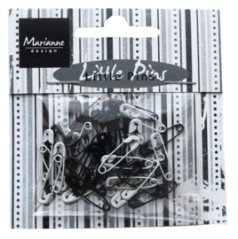 Marianne D Decoration Mini pins - Black & White JU0944