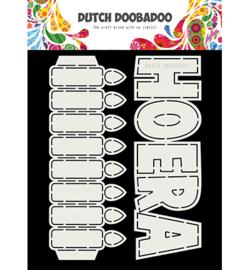 Dutch Doobadoo - 40296 - Hoera, Kaarsen