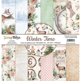 ScrapBoys - Winter Time 12x12 Inch Paper Set