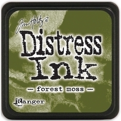 Tim Holtz distress mini ink forest moss