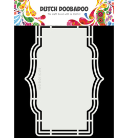 Dutch Doobadoo - 470713184 - Dutch Shape Art Lily