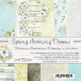 "Paper Collection Set 6""*6"" Spring Morning Dreams, 250 gsm"