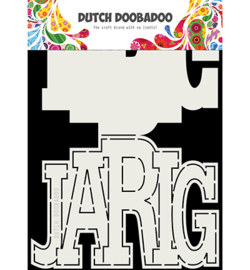 Dutch Doobadoo - 470713731 - Card Art Jarig