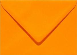 Papicolor Envelop C6 oranje 105gr-CV 6 st 302911 - 114x162 mm