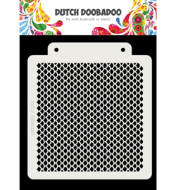 Dutch Doobadoo - 470715140 - Dutch Mask Art Schubben