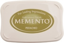 Memento inktkussen Pistachio