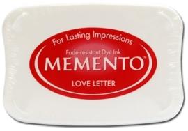 Memento inktkussen Love letters