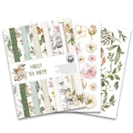 Piatek13 - Paper pad Forest tea party, 6x8'' P13-FOR-10