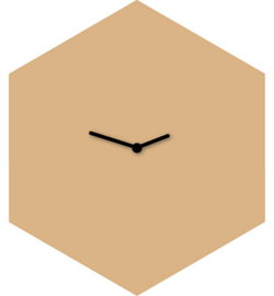 461.500.000 - Clock Hexagon (incl clock mechanism)