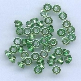 Eyelet Flower 6mm - groen
