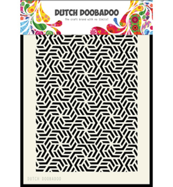 Dutch Doobadoo Mask Art Geomatric