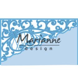Marianne D Creatables LR0584 - Anja's swirl corner