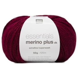 Rico Design - Essentials Merino Plus dk 007 Bordeaux