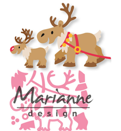 Marianne D Collectable COL1461 - Eline's Reindeer