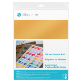 Silhouette Sticker Sampler Pack (11 sheets with 10 designs for planners)
