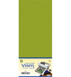 Vinyl sheets - 3.0558 - Mirror Vinyl, Leaf Green