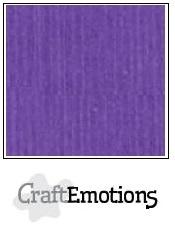CraftEmotions linnenkarton Purperviolet 30,5x30,5cm
