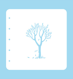 Nellie`s Choice - COLST012 - Stencil Tree