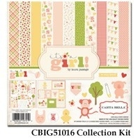 Carta Bella It's a Girl 12x12 Inch Collection Kit (CBIG51016)