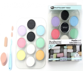PanPastel Pearl (6) & Mediums (4) Tray-Kit