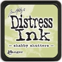 Tim Holtz distress mini ink shabby shutters
