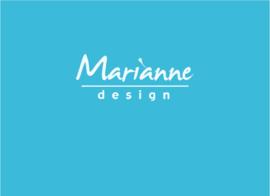 20x diverse soorten knipvellen Marianne Design
