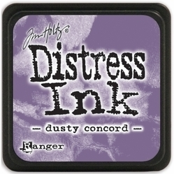 Tim Holtz distress mini ink dusty concord