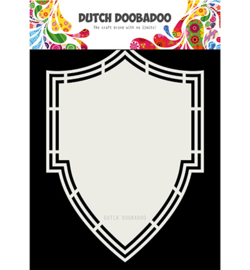 Dutch Doobadoo - 470.713.205 - Dutch Shape Art Shield