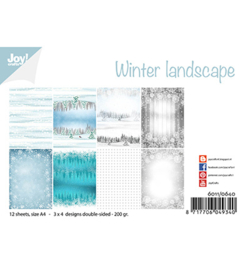 Joy! Crafts - 6011/0640 - Winter landscape