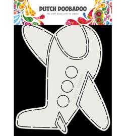 Dutch Doobadoo -  470.713.818 - DDBD Card Art Vliegtuig