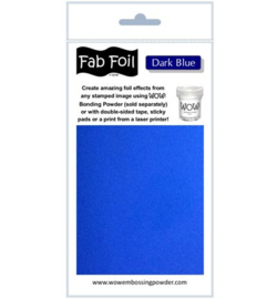 Fabulous Foil - Dark Blue