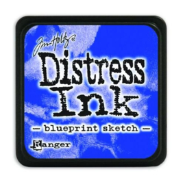 Tim Holtz distress mini ink blueprint sketch