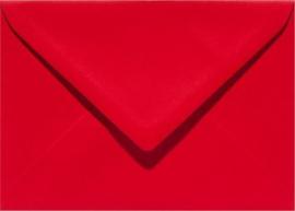 Papicolor Envelop C6 rood 105gr-CV 6 st 302918 - 114x162 mm