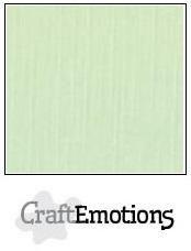CraftEmotions linnenkarton groen 27x13,5cm 250gr