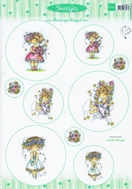 Card Topper Snoesjes - Zomer - 3DHM0054