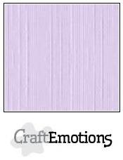 CraftEmotions linnenkarton - lavendel pastel LHC-59 A4 250gr
