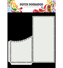 Dutch Doobadoo - 470.713.877 - Card Art - Slimline Scallop Pocket