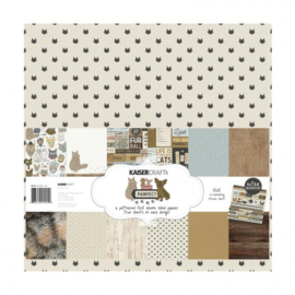 "Kaisercraft paper pack 12x12"" Pawfect cat"