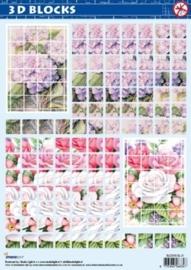 Bloemen - Blocks 3D Stansvellen