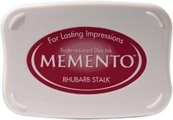 Memento inktkussen Rhubarb stalk
