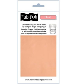 Fabulous Foil - Blush