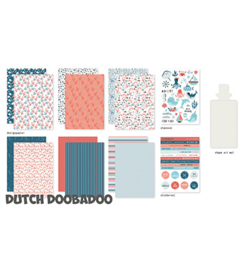 Dutch Doobadoo - 473.005.003 - Crafty Kit Sea Bottom