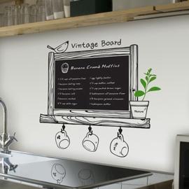 Blackboard (schoolbord) A4 formaat