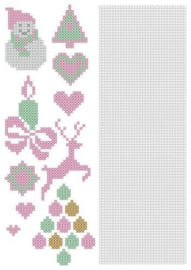 Nellie`s Choice CrossCraft Pattern-2 Christmas CCPAT002 A4