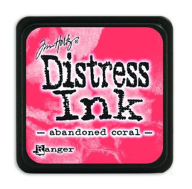Tim Holtz distress mini ink abandoned coral